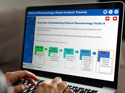 Clinical Pharmacology Tutorial screenshot